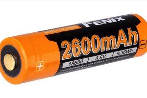 FENIX ARB-L18-2600 RECHARGEABLE BATTERY
