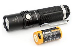 Fenix PD25 LED flashlight black(black)